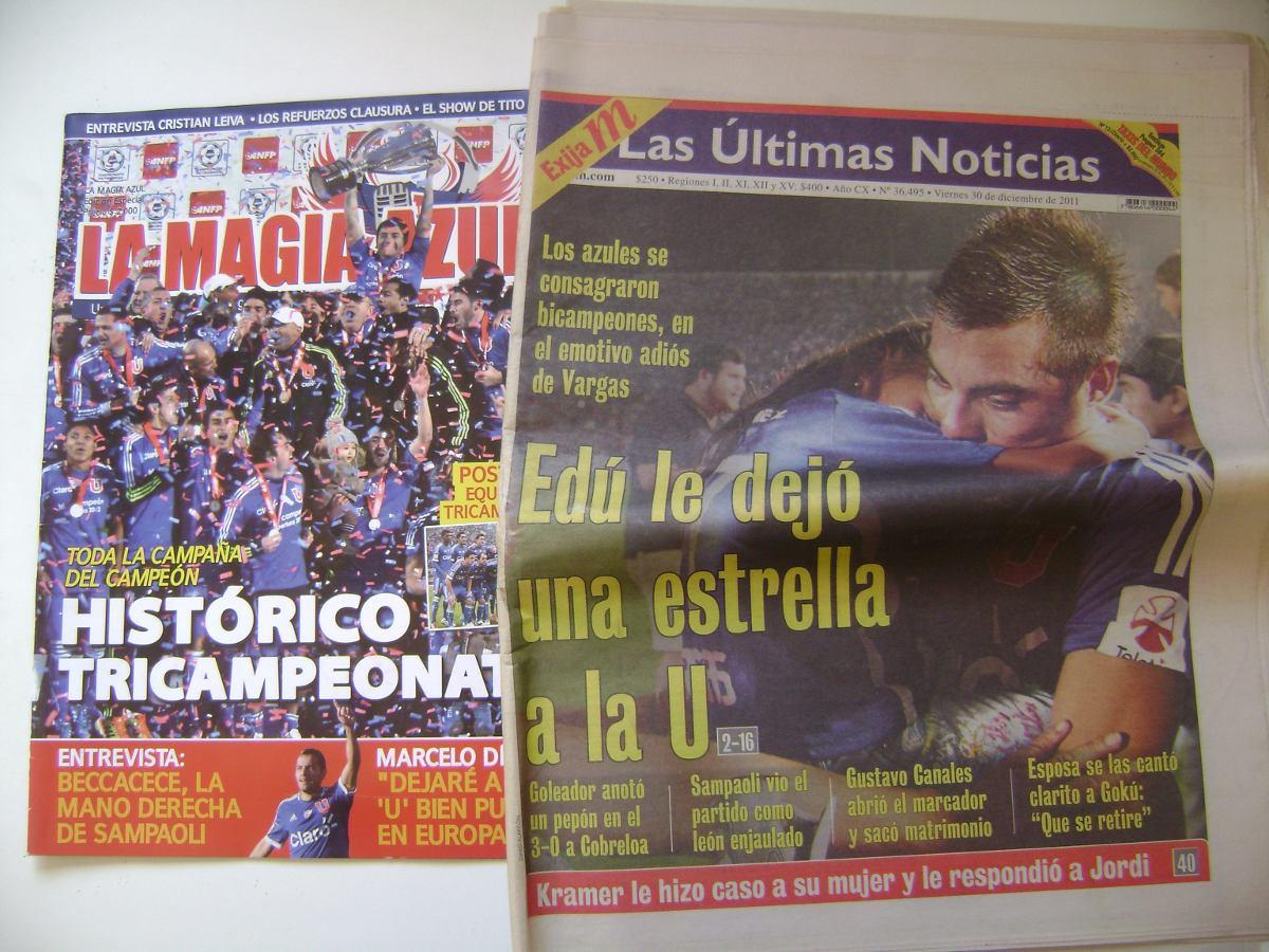 Revista La Magia Azul Diario Las Un Con El Bicampeonato- - $ 8.000 en ...