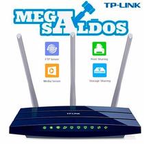 Megasaldos Router Wifi N300 Gigabit Usb Tplink Tl-wr1043nd