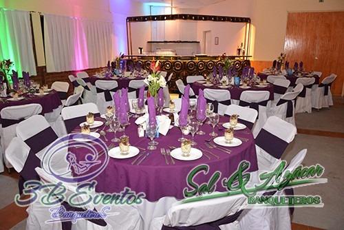 Salon De Eventos Con Banquetería, Todo Incluido