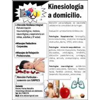 Kinesiologo A Domicilio A Todas Las Comunas De Santiago