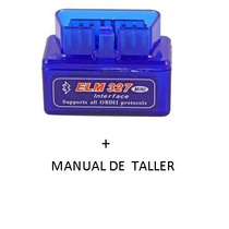 Scanner Bluetooth Obd2 Elm327 + Manual De Taller A Eleccion