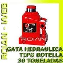Gata Hidraulica Tipo Botella 30 Toneladas Especial Talleres
