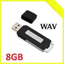 Grabadora Usb Digital Espia En Pen Drive 8gb