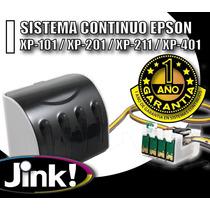 Sistema Continuo Compatible Epson Xp201 -xp211 -xp401 -xp101