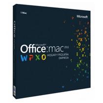 Microsoft Office Mac 2011 Hogar Y Pequeña Empresa