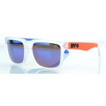 Lentes De Sol Spy Ken Block Transparent Blue Orange Foot