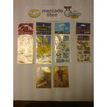 Stickers F. Argentino (4), Más 2 Tarjetas F. Español 13-14