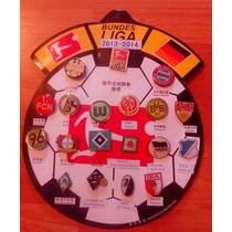 Pines Metálicos Fútbol Bundesliga