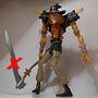 Espantapájaros/scarecrow Enemigo Batman,19 Cm Sin Guadaña Ok