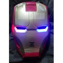 Máscara De Iron Man Ironman Con Luz