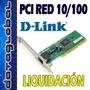 Liquidación Stock D-link - Tarjetas De Red Pci 10/100 Dlink