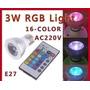 Ampolleta Led Magic 16 Colores Y 5 Modos Con Un Control