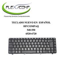 Teclado En Español Hp/compaq 540 - 550 - 6520 - 6720