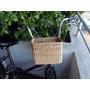 Hermosos Canastos Para Bicicletas. En Firme Fibra De Palma.
