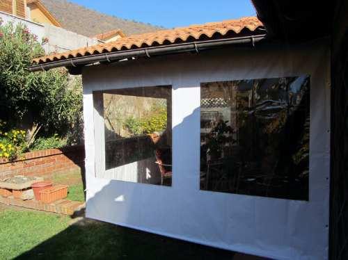 Toldos cierres panoramicos para terrazas tela pvc la for Recambios de telas para toldos