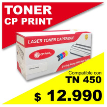 Toner Para Brother Tn450-2220-2280, Compatible, 100% Nuevos.