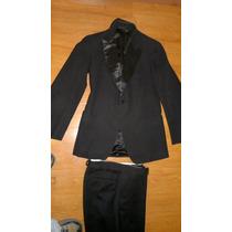 Terno Traje De Vestir ,negro Chaqueta Y Pantalon $25000