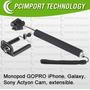 Monopod El Kit + Completo Camara Smartphone Go Pro Pcimport