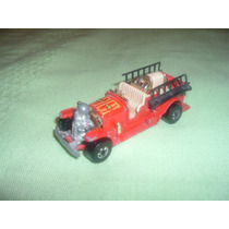 Carro De Bombero N°5 Hot Wheels