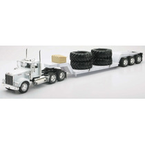 Camion Kenworth Lowboy W/big Tires Escala 1:32