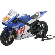 Moto Yamaha Yzr-m1 Gp Valentino Rossi Metal 1:12