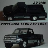Dodge Ram 1500 Metal/plástico Usada Tootsietoy De 20 Cm 1:24
