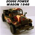 Dodge Power Wagon 1946 Pick-up 1:32 De 17 Cm Nueva En Caja
