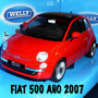 Fiat 500 Año 2007 Escala 1.24 De 14 Cm. Welly Nuevo C/caja.-