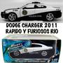 Dodge Charger Rapido Y Furioso Rio,1:24, 21 Cm. Nuevo C/caja