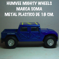 Humvee Supervivencia Soma Metal-plastico 18 Cm. Usado 1:24
