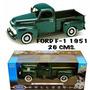 Ford F-1 1951 Esc. 1:18 De 26 Cm. Metalica,nueva Marca Welly