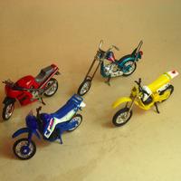 Esc.1:24, 8 Cm. Metal/plástico Chopper,kawasaki,etc...nuevas