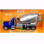 Camion Mixer Concreto Peterbilt 379 De 30 Cm. 1/32 Welly,new