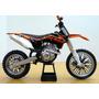 Moto Ktm 450 Sx-f 2013 Escala 1:10 22 Cm De Largo