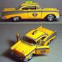 Taxi Colección Chevy Belair 1:32 Kinsmart,12,5 Cm. Nuevo.