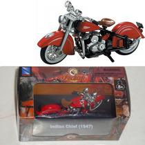 Indian Clásicas/ Ducati, 1:32 Metal/ Plástico Nuevas Newray