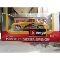Maquetas Burago Metal De Porsche 911 Carrera Esc 1:43
