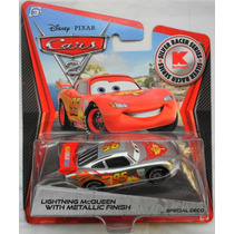 Disney Pixar Cars 2 Lightning Mcqueen With Metallic Finish