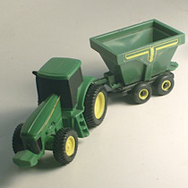 Tractor Mas Trailer Tolva Marca Ertl U.s.a. Escala 1:64 Okey