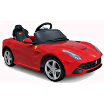 Auto Electrico Ferrari F12 Berlinetta Rojo Licencia Original