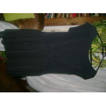 Vestido Coctel Topshop,talla 42 Seda Negra,elegantìsimo