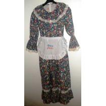 Vestido De Huasa China