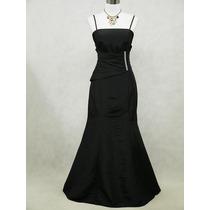 Elegante Vestido Negro Talla Grande