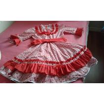 Vestido De Huasa Talla 16