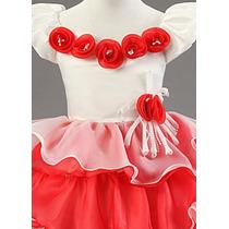 Vestido Nuevo Elegante Niña