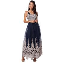 Vestido De Fiesta - Exclusivo - Importado