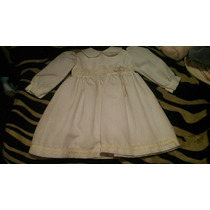 Vestido De Bautizo Blanco Solo Un Uso