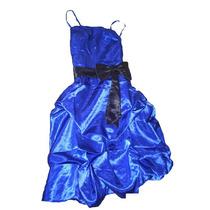 Vestidos Fiesta Globo Graduacion Color Azul Y Burdeo Nuevos