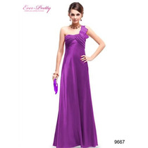 Hermoso Vestido Lila. Ideal Fiestas, Bodas, Galas, Eventos