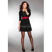 Vestido Importado De Asia Color Negro